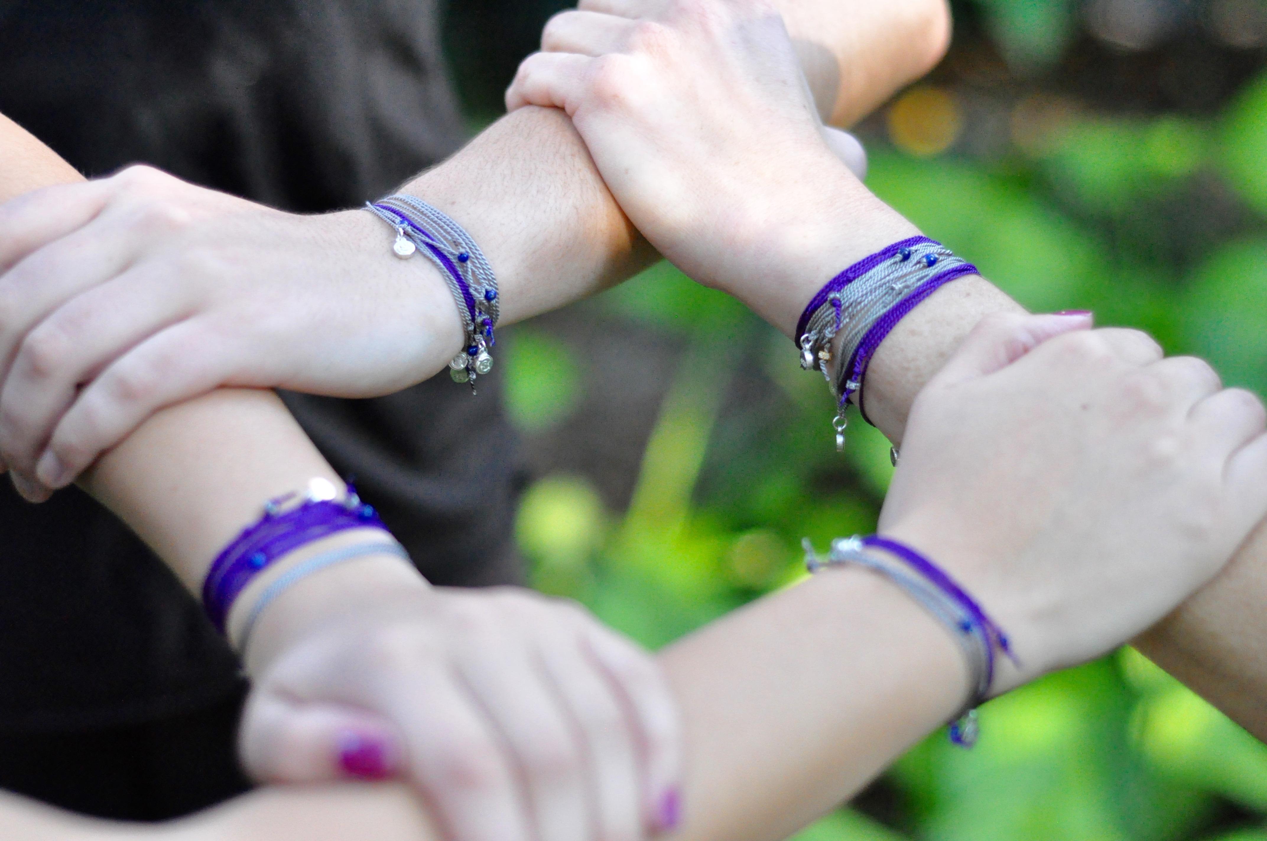 Bracelets.four hands