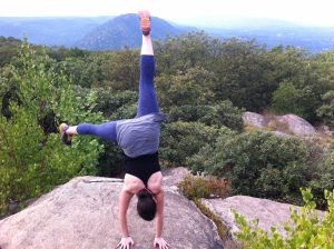 handstand mountain